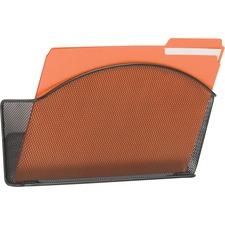 SAF 5651BL Safco Onyx Mesh Wall Pockets SAF5651BL