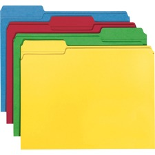 SMD 12008 Smead 1/3 Cut Recycled File Folders SMD12008