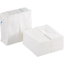 "Georgia-Pacific Preference 1/8 Fold Paper Dinner Napkin - 2 Ply - 15"" x 16"" - White - Paper - 3000 / Carton"
