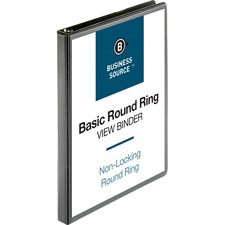 BSN 09950 Bus. Source Round-ring View Binder BSN09950