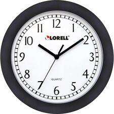 """LLR 60987 Lorell 9"""" Round Profile Wall Clock LLR60987"""
