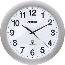 """LLR 60996 Lorell 12"""" Round Radio-controlled Wall Clock LLR60996"""