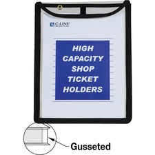 CLI 39912 C-Line Shop Ticket Holder with Reinforced Edges CLI39912