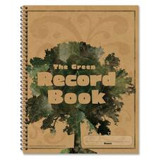 CDP 104301 Carson The Green Spiralbound Record Book CDP104301