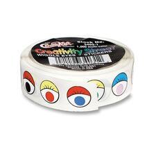 CKC 340301 Chenille Kraft Wiggle Eyes Stickers CKC340301