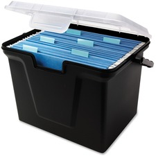 INN 55789 Innovative Storage Recycled Stackable File Box  INN55789