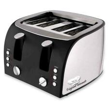 CFP OG8166 CoffeePro Adjustable Slots 4-Slice Toaster CFPOG8166