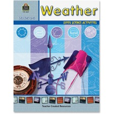 TCR 3667 Teacher Created Resources Grades 2-5 Weather Book Printed Book