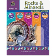 TCR 3666 Teacher Created Resources Gr 2-5 Rocks/Minerals Book Printed Book