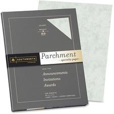 SOU P874CK Southworth Fine Parchment Paper SOUP874CK