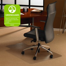 FLR 118923LR Floortex Low/Med Pile Polycarbonate Chairmat FLR118923LR