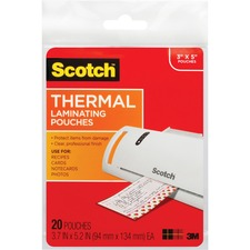 MMM TP590220 3M Scotch Thermal Laminating Pouches MMMTP590220