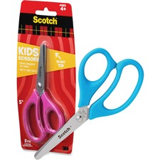 MMM 1441B 3M Kid's Stainless Steel Scissors MMM1441B