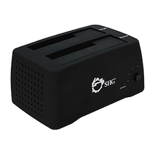 SIIG Cool USB 2.0/eSATA to SATA Docking Duplicator (SC-SA0G12-S1)