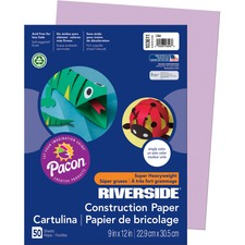 PAC 103611 Pacon Riverside Super Heavywt Construction Paper PAC103611