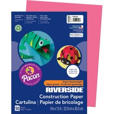 PAC 103580 Pacon Riverside Super Heavywt Construction Paper PAC103580