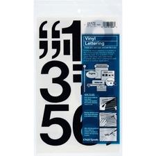 CHA 01170 Chartpak Permanent Adhesive Vinyl Numbers CHA01170