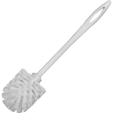 RCP 631000WE Rubbermaid Comm. Long Handle Toilet Bowl Brush RCP631000WE