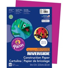 PAC 103604 Pacon Riverside Super Heavywt Construction Paper PAC103604