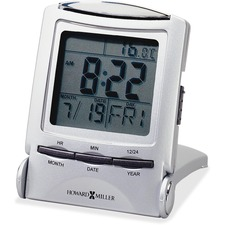 MIL 645358 Howard Miller Travel alarm Clock MIL645358