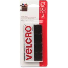 VEK 90072 VELCRO Brand Sticky Back Adhesive Squares VEK90072