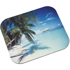 MMM MP114YL 3M Tropical Beach Image Mouse Pad MMMMP114YL