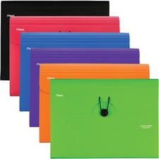 MEA 35552 Mead Five Star 6 Pocket Plastic Expanding File MEA35552