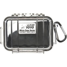 Pelican 1010 Carrying Case for iPod - Black, Clear