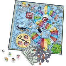 Learning Resources Money Bags Coin Value Game - Classic - 2 to 4 Players