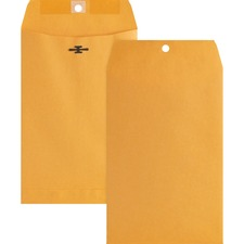Business Source Heavy-Duty Clasp Envelope - BSN 36660