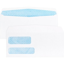 BSN #9 Double Window Envelope gummed - 500 pk