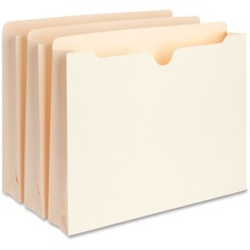 Business Source Expanding File Pockets Letter - (400 capacity - 50 pk)