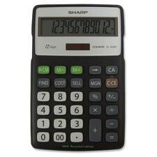 SHR ELR287BBK Sharp ELR287 Eco Calculator SHRELR287BBK
