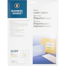 "BSN 26109 Bus. Source 1""x2-5/8"" Address Laser Labels BSN26109"