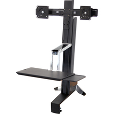 Ergotron WorkFit-S Dual Sit-Stand Workstation