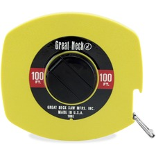 GNS 100E Great Neck Saw 100 Foot English Rule Tape GNS100E