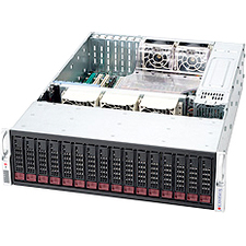Supermicro SuperChassis SC936E26-R1200B Rackmount Enclosure - Rack-mountable - Black - 3U - 16 x Bay - 5 x Fan - 1.20 kW