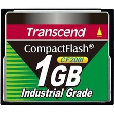 Transcend TS1GCF200I 1 GB CompactFlash (CF) Card