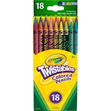 CYO 687418 Crayola Twistables Colored Pencils CYO687418
