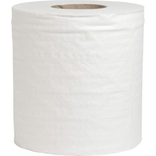 """Special Buy Center Pull Towels - 2 Ply - 7.60"""" x 10"""" - 600 Sheets/Roll - White - Perforated - For Restroom, Healthcare, Food Service, Kitchen - 6 / Carton"""