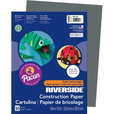 PAC 103609 Pacon Riverside Super Heavywt Construction Paper PAC103609