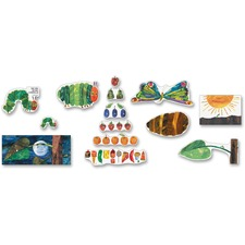 CDP 110132 Carson Very Hungry Caterpillar Bulletin Board Set CDP110132