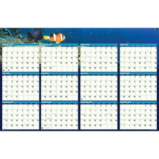 HOD 3969 Doolittle Earthscapes Sea Life Laminated Planner HOD3969