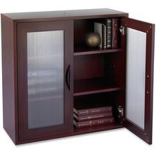 SAF 9442MH Safco Apres Modular Storage 2-door Cabinet SAF9442MH