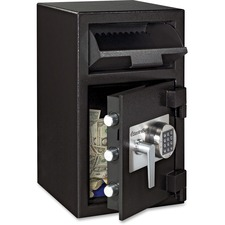 "Sentry Safe Wholesale Sentry Safe Depository Safe, Electronic Lock, 14""x15-3/5""x24"", Black at Sears.com"