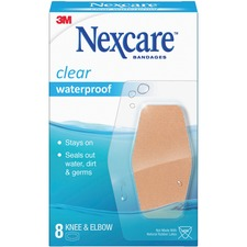 MMM 58108 3M Nexcare Waterproof Knee and Elbow Bandages MMM58108