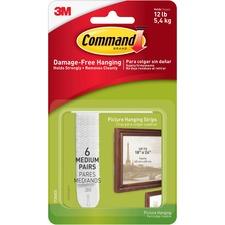 Command Medium Picture Hanging Strip