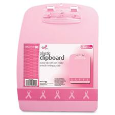 OIC 08903 Officemate Breast Cancer Awrnss Designer Clipboard OIC08903