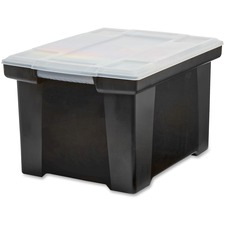 STX 61528U01C Storex Ind. Letter/Legal Tote Storage Box STX61528U01C