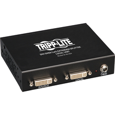 Tripp Lite 4-Port DVI over Cat5 / Cat6 Extender Splitter, Video Transmitter